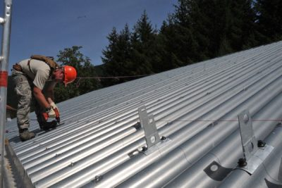 metal roof recycling